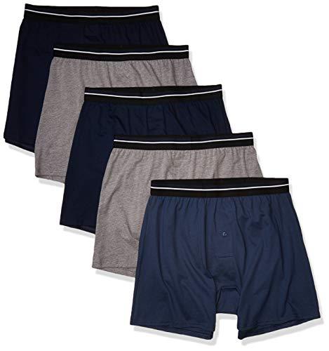 Amazon Essentials Men's 5-Pack Knit Boxer Shorts Now $9.50 (Was $22.87)