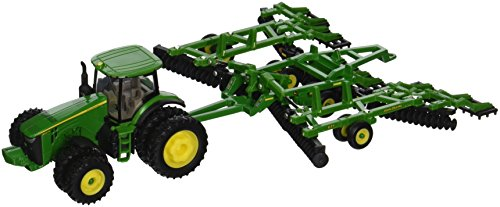 Ertl John Deere 8320R Tractor and Model 637 Disk Set  1:64 Scale