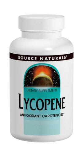 Source Naturals Lycopene 15 mg Antioxidant Carotenoid - 60 Softgels