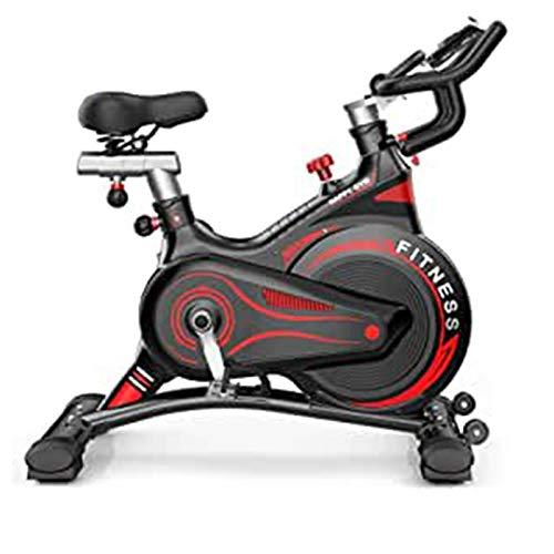 DJDLLZY Moda Deportes Bicicletas Hogar Mute Multifuncional Control Magnético Interior Bicicleta Ejercicio Deportes Pérdida de Peso Equipo de Fitness