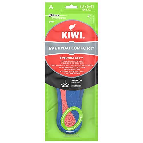 Kiwi Solette Gel Everyday Comfort, Solette Scarpe in Gel, per Uso Quotidiano, Taglia 36-41 EU, 1 Paio