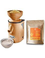 Mockmill graanmolen | keramische molen | elektrische molen | hout
