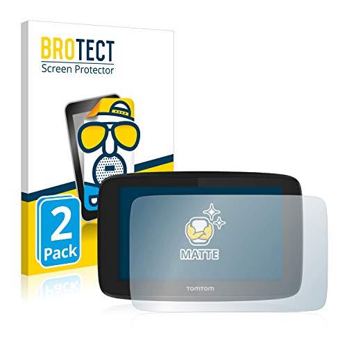 BROTECT 2X Entspiegelungs-Schutzfolie kompatibel mit Tomtom GO Essential (5