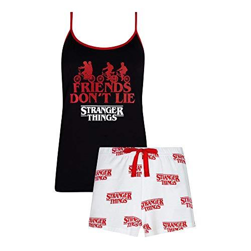 Netflix Stranger Things - Conjunto de pijama para mujer y ni