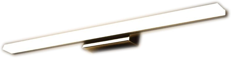 SHI Xiang Shop Modernes einfaches Badezimmer LED Spiegel Vorderes Licht Weies Licht Warm 40cm (7 Watt) 60cm (9 Watt) 80cm (12 Watt) A+ (Farbe   Warmes licht, gre   60cm (9 w))