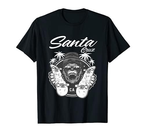SkateBoard Santa Cruz Palm Tree Street Wear Maglietta