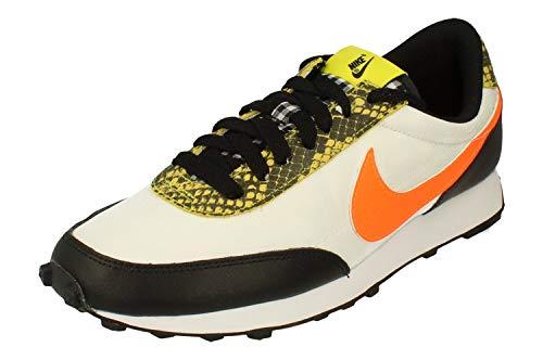 Nike W DBREAK QS, Chaussure de Course Femme, Black Total Orange Dynamic Yellow White, 39 EU