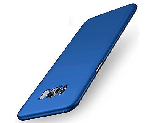 EIISSION Hülle Case für Samsung Galaxy S8 Plus, schlicht dünn Leichte Cover SlimShell PC Schutzhülle für Samsung S8+ / S8 Plus Handyhülle,Blau