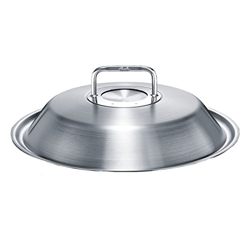 Fissler 5680631600 Luno Wok Metalldeckel