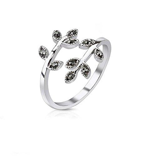 PAULA & FRITZ Anillo ajustable para mujer, alianza, anillo de amistad, anillo...