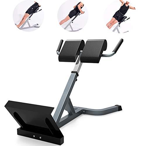 Grist CC Römischer Stuhl, Heimfitnessgeräte Multifunktionaler Für Multi-Workout-Kraftstation Zur Rückenverlängerung/Tauchstation Zu Hause