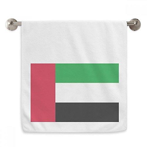 OFFbb Vereinigten Arabischen Emirate National Flagge Asien Country Reif weiß Handtücher Handtuch Weich Waschlappen, 33x 73,7cm