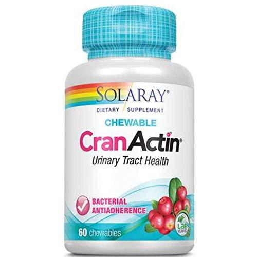 Solaray Cranactin 200 mg Chewable Tablets   60 Count
