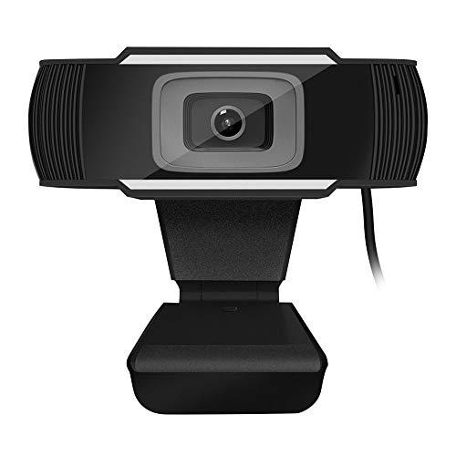 diaodiao Webcam con micrófono, computadora portátil de escritorio Webcam con USB para juegos, videoconferencias, YouTube, Google Meet