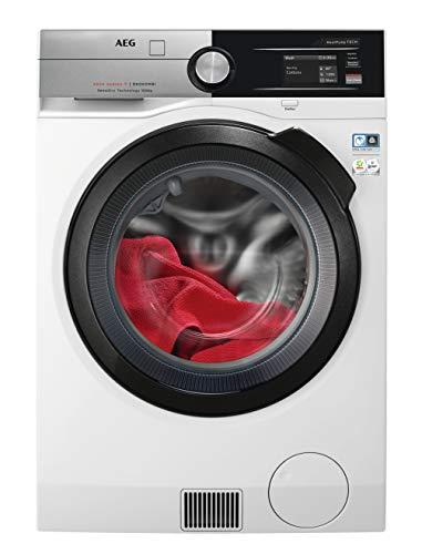 AEG L9WE96605 Wifi Waschtrockner / SensiDry-schonend und energiesparend / 10 kg Waschen / 6 kg Trocknen / Energieklasse C / Mengenautomatik / Nachlegefunktion / ProSteam-Auffrischfunktion / 1600 U/min