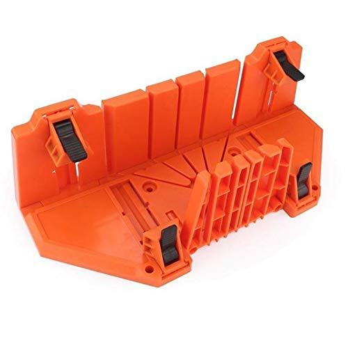 JCMY DIY-Werkzeuge Kunststoff 14 Zoll Gehäuse zur Holzspann Gehrungssäge Box Cutting Tools 0/22,5/45/90 Grad Block Sägeschnitte Für Dekoration