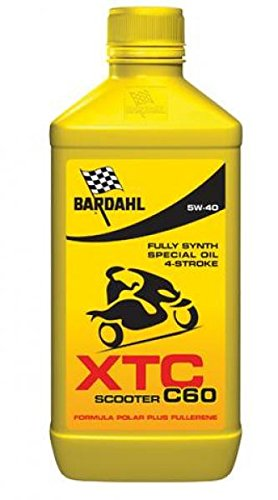 362040 OLIO BARDAHL XTC C60 SCOOTER 5W40 LUBRIFICANTE PER MOTO 4T 1LT