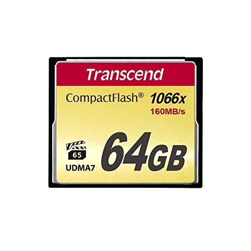 Transcend 64GB CompactFlash Memory Card 1000x (TS64GCF1000)