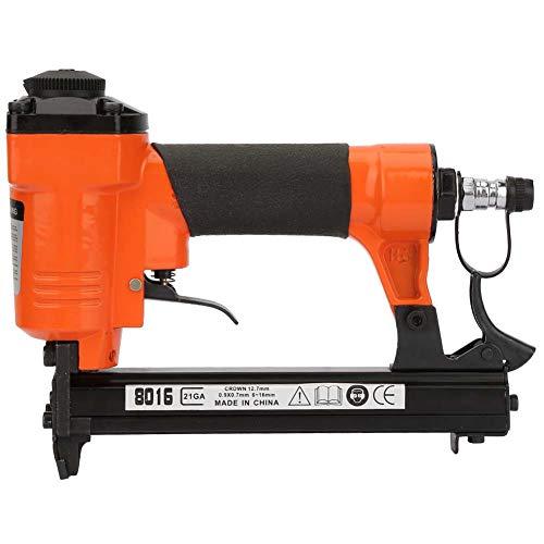 Clavadoras neumáticas GAESHOW, pistola de clavos neumática tipo U, clavadora recta de aire, grapadora, grapadora, 21GA, 0,9x0,7mm