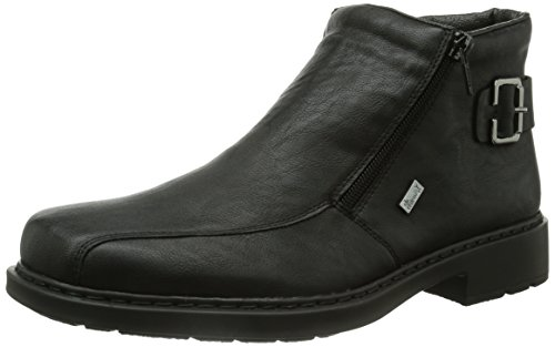 Rieker Herren 32861 Kurzschaft Stiefel, Schwarz (schwarz / 00), 46