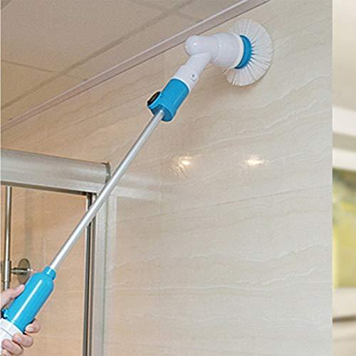 Elektrische borstel multifunctioneel flexibel schoonmaken huis badkuip muren wasdroger