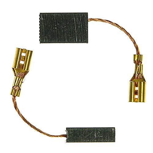 ULFATEC ® Kohlebürsten AEG MFE 1305, MFE 1500/0, PH 350 RX2, PM 3 - 5 x 10 x 16 mm (2099)