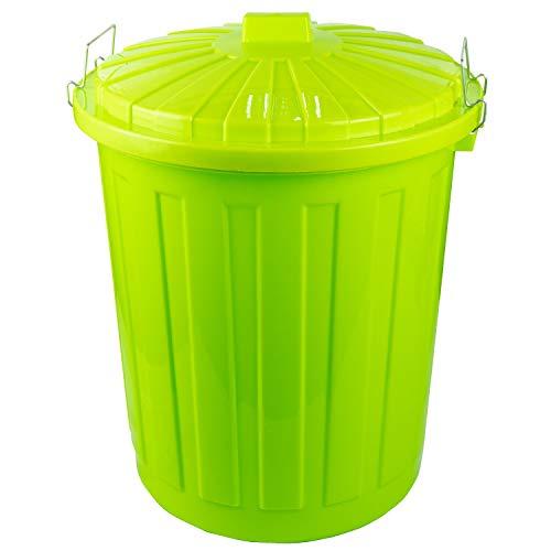 HRB Maxitonne, Mülleimer 50 Liter, Tonne (Grün)