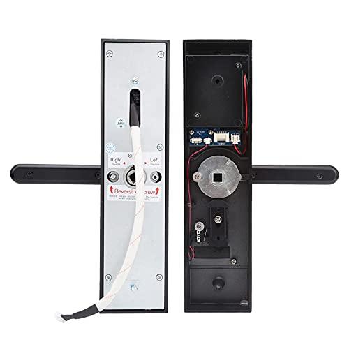 Gaeirt Fingerprint Lock, WiFi Door Lock Human‑computer Interaction Support Virtual Passwords Waterproof for Home Security Device for Tuya