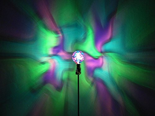 Hand-Painted Green/Blue/Purple Mosaic Mood-Light Bulb