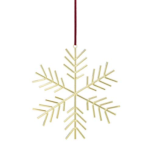 Bloomingville - Ornament - Stern - Metall - goldfarben - H 32,5 cm x W 31 cm