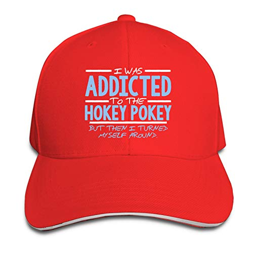 dingtucailiao Unisex I Was Addicted To The Hokey Pokey Casquette For Mens Warm Cap Snapback Cap Knitting Skull Caps For Outdoor and Indoor