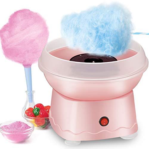 Kacsoo Zuckerwattemaschine, elektrische Zuckerwattemaschine, Zuckerwattemaschine, Zuckerwattemaschine, elektrische Zuckerwattemaschine für die Küche DIY Kinder Weihnachten