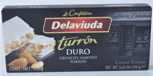 De la Viuda Crunchy Almond Turron 5.25 OZ