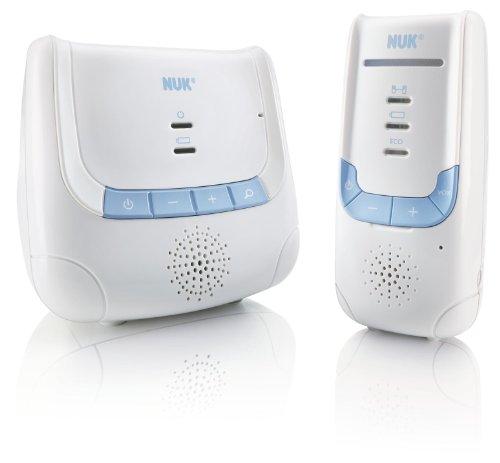 NUK Babyphone Eco Control DECT 266 mit Full Eco Mode