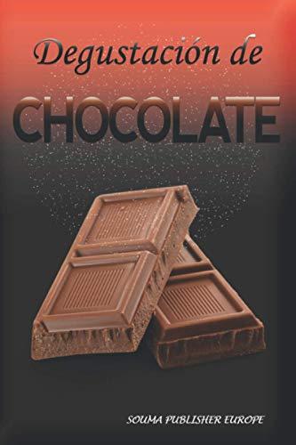 Degustación de Chocolate: Cuaderno ey un libro para registrar las catas para los amantes de Chocolate. Guarde todas sus notas en las hojas de cata previamente rellenadas. Un regalo original y precioso