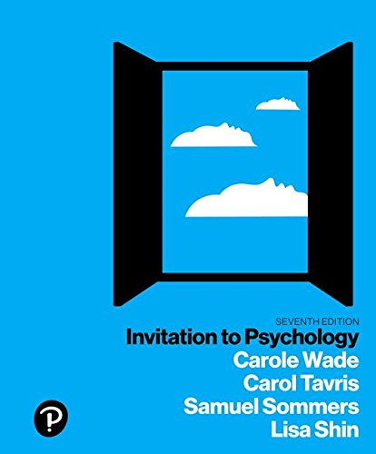 Invitation to Psychology Plus NEW MyLab Psychology with Pearson eText -- Access Card Package, 7/e