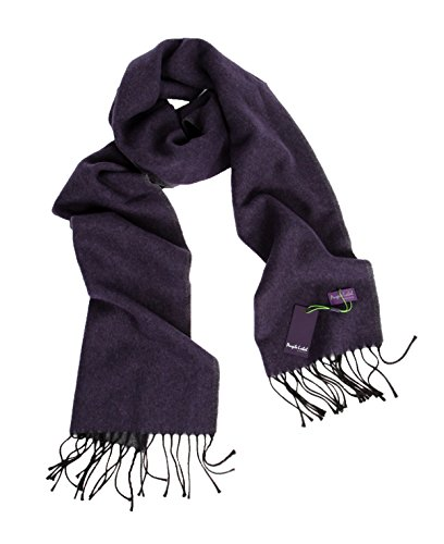 Benvenuto Herren Schal Men Scarf mit Fransen Tom Purple Label