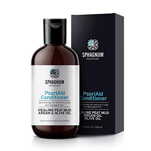 Natürlicher Conditioner Mit Arganöl & Olivenöl - Effektive Torfschlammbehandlung für dünnes, trockenes und strapaziertes Haar. Frei von Parabenen, Silikon & Sulfat. Beste...