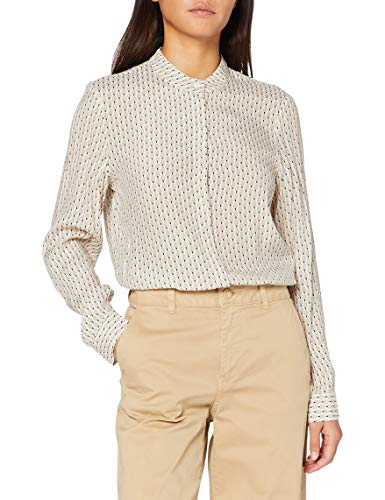 CINQUE Damen CIPROSI Bluse, Beige (02 Cremefarbe), 42