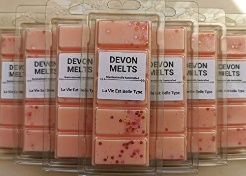Devon Melts - La Vie est Belle Type - Highly Scented 100% Soy Wax Snap