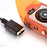KAMLIKE 1m Cargador para Polar M430 GPS Reloj Reemplazo USB Cable de Carga Cable de Carga