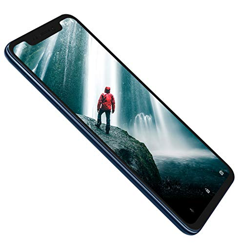 ZTE Smartphone Axon 9 Pro (15, 77 cm (6, 21 Zoll) AMOLED Bildschirm, 128 GB interner Speicher & 6 GB RAM, 20 MP Frontkamera, Dual-SIM, NFC, IP68, Android 8.1) blau