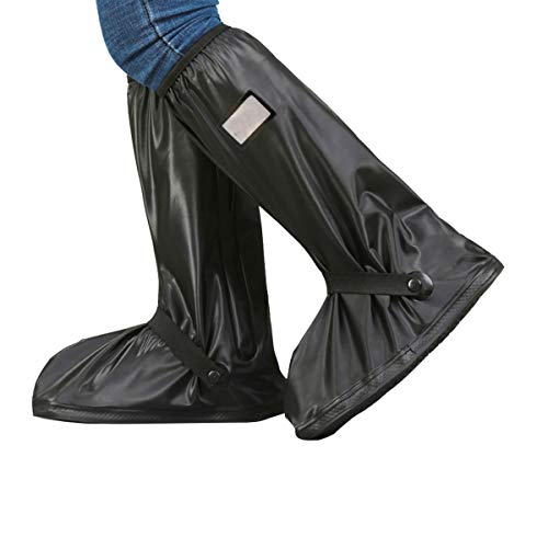 Osuter Cubierta del Zapato Impermeable,Cubrecalzado Impermeable con 4PCS Bolsa de Almacenamiento de Zapatos Antideslizante Fundas Lluvia Zapatos para Días de Lluvia y Nieve