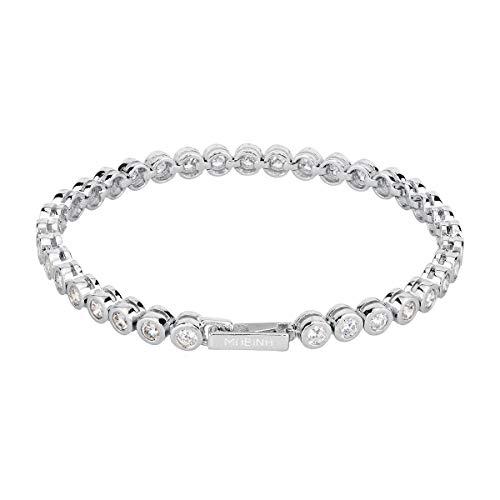 Mabina 533022 bracciale Tennis argento zirconie donna Mariana Rodriguez