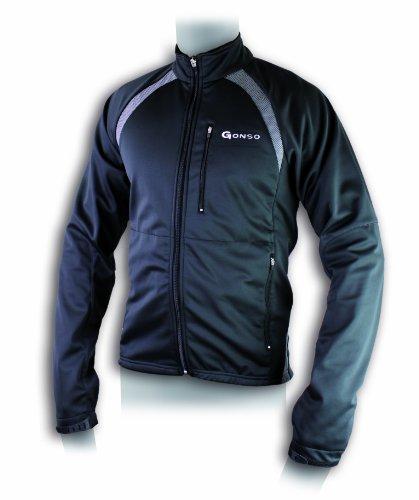 Gonso Herren Softshell-Active-Jacke Quebec V2, Black, M