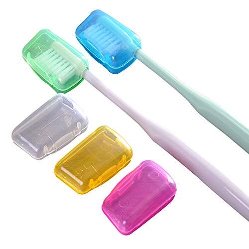 Zahnbürsten-Etui, Portable Zahnbürste Kopf Abdeckungen, zahnbürsten etui Kunststoff Halter, Lagerung Reinigung Bürsten auf Reisen tragbare Haushalt