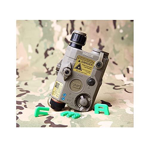 FMA PEQ LA5-C - Carcasa para batería (LED, luz blanca y verde con lentes infrarrojos)