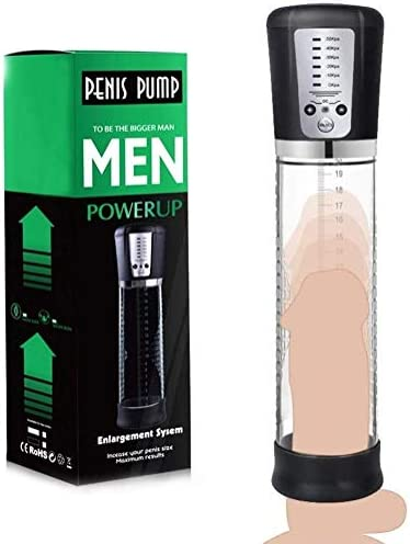 Powerful Men s Electric Pen sgrowth Vacuum Booster 5 Suction Mode Vacuum Air Pumps with Transparent product image