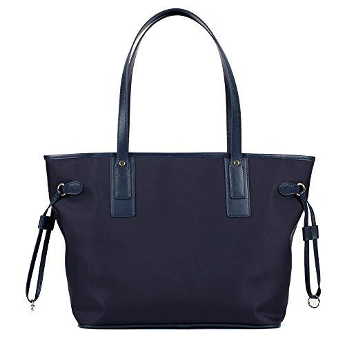 Eshow Borsa a tracolla impermeabile in nylon per borsa da viaggio per donna