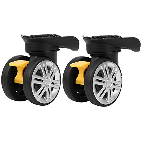Outdoor Accessories Brake Mute Double Row Wheel Suitcase Luggage Replacement Universal
